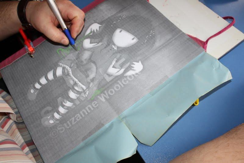 Matriuskadas paso a paso como pintar una camiseta - Pinturas para pintar camisetas ...