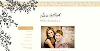 we have designed six new wedding website templates that match a selection of our vera wang wedding invitations creating seamless wedding planning for
