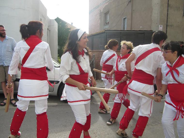 Bastoners de Malla, els bastoners del sud d'Osona
