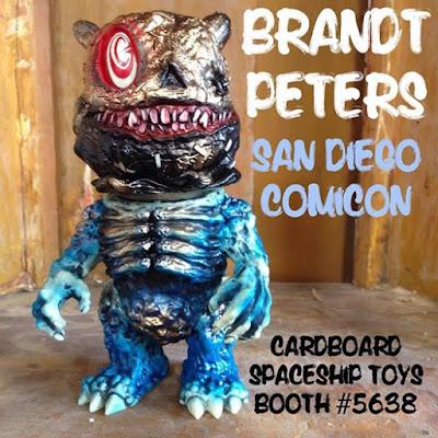 San Diego Comic-Con 2015 Exclusive Sackhead Vinyl Figure by Brandt Peters x Mutant Vinyl Hardcore