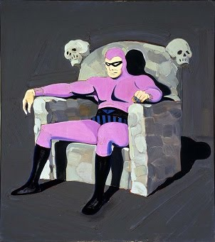 The Phantom by Mel Ramos
