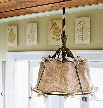 Cosas de palmichula decorar con tela de saco arpillera - Cuadros con tela de saco ...