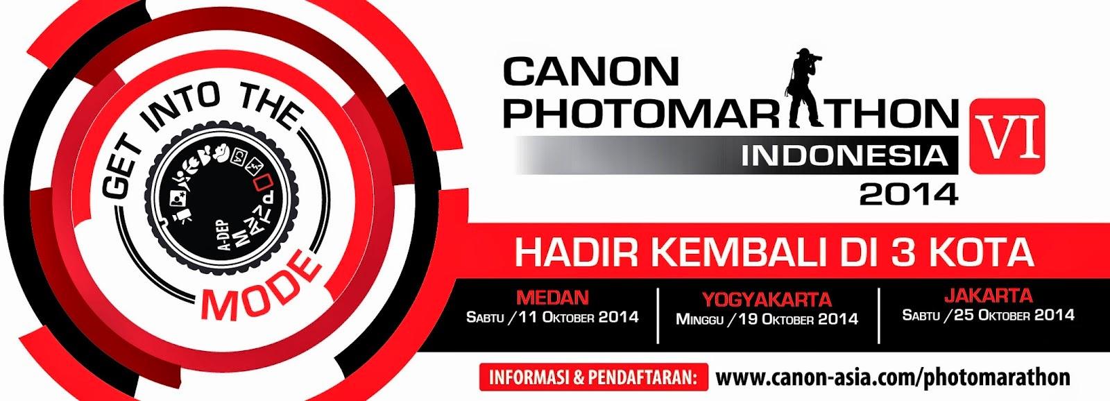 Peserta Canon Photomarathon 2014 Membludak