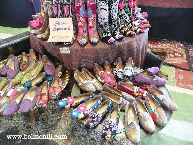 cowboy boots, fancy boots, bel monili, country living magazine, country living fair