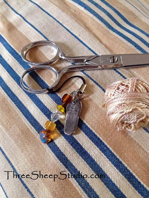 Vintage Mattress Ticking - ThreeSheepStudio.com