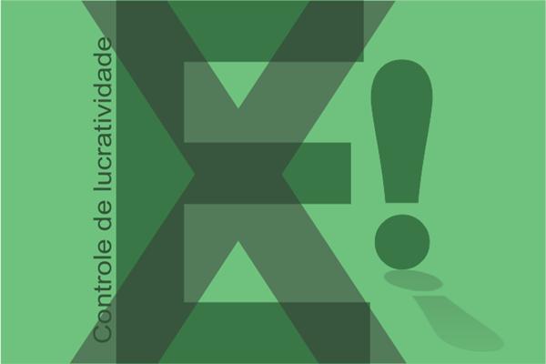 Planilhas eletrônicas no Excel sobre lucratividade na venda de produtos