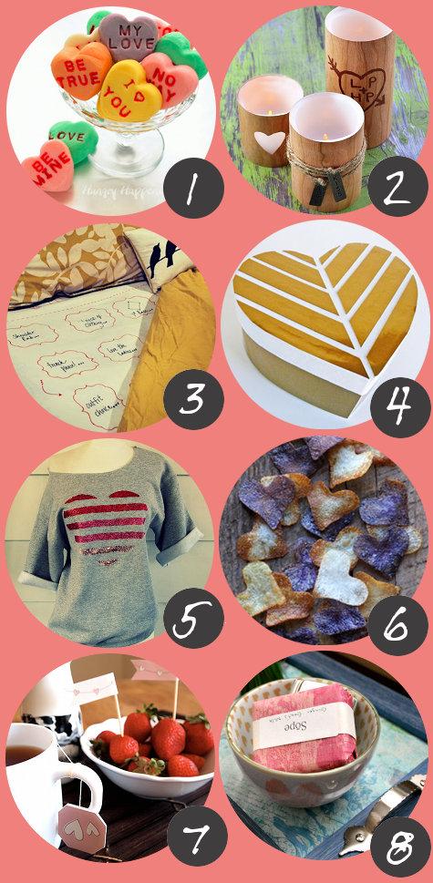 Diy homemade valentine 39 s day gift ideas 80 handmade for Homemade craft gift ideas