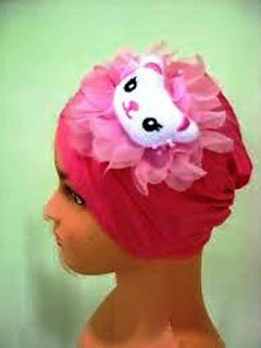 Turban Bayi Lucu Hello Kitty