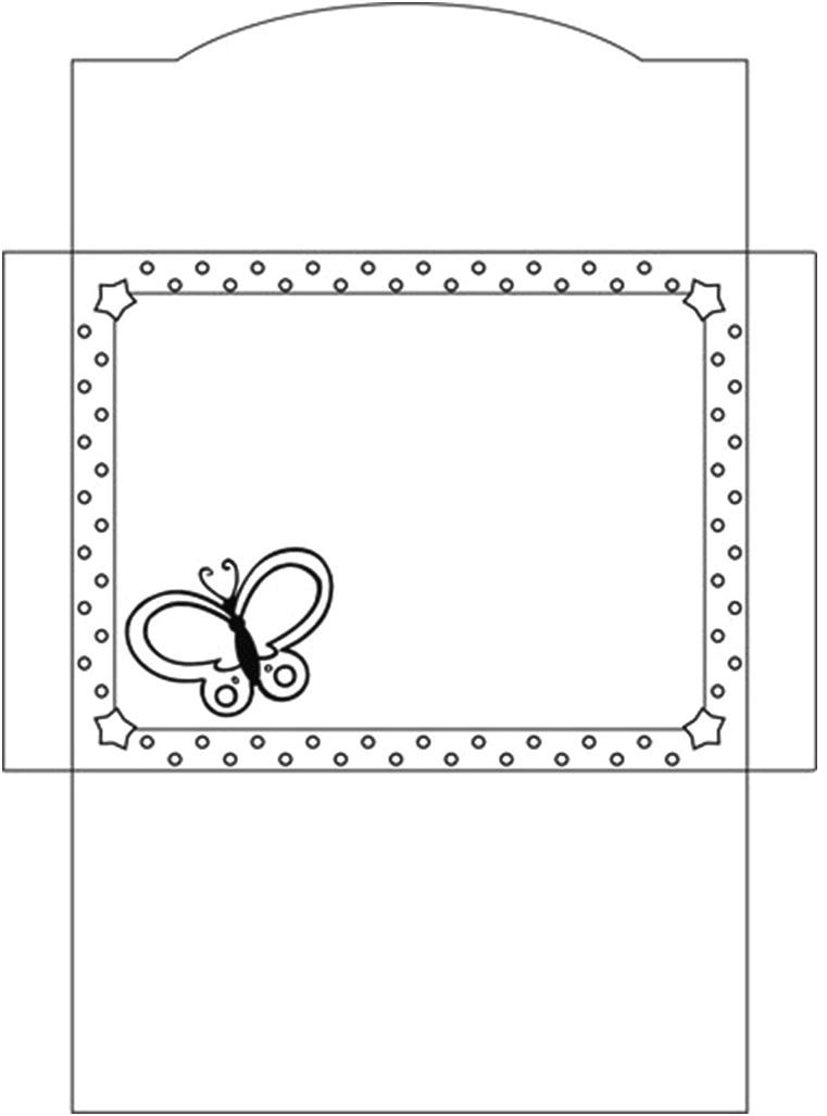 Suficiente AQUARELINHA: Moldes Envelopes UV55