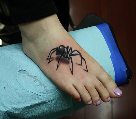 spider tattoos art design