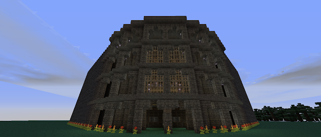 how to build a colliseum in minecraft