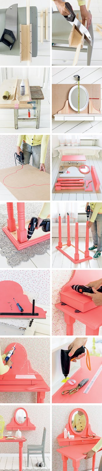 Dressing+Table+on+Wheels+DIY+From+101+Woonideeen+Magazine Dressing Table on Wheels DIY From 101 Woonideeen Magazine
