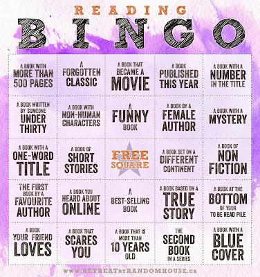 Reto Bingo literario 2015