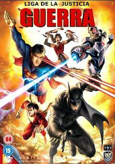 Liga de la justicia: Guerra – online 2014