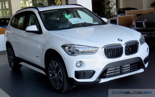 Novo BMW X1 2016 xDrive25i Sport