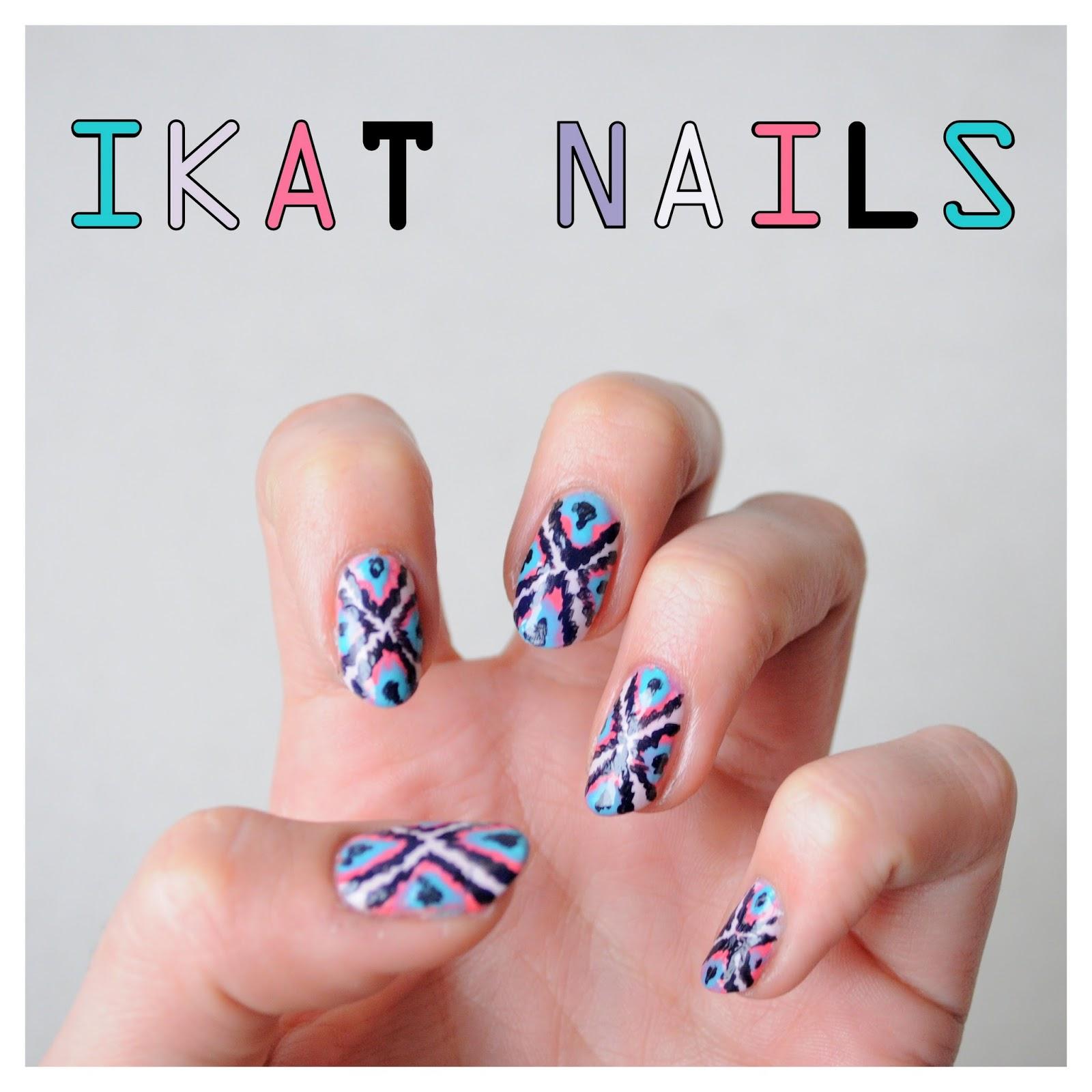 ikat nails=
