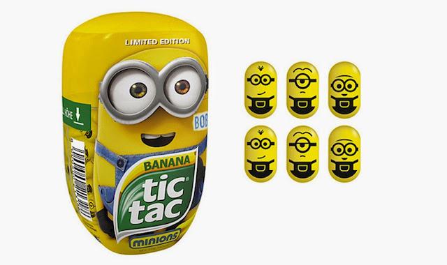 Tic Tac lança versão especial dos Minions com sabor banana ...
