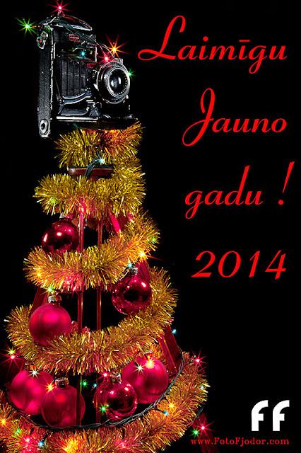 Laimīgu Jauno gadu!