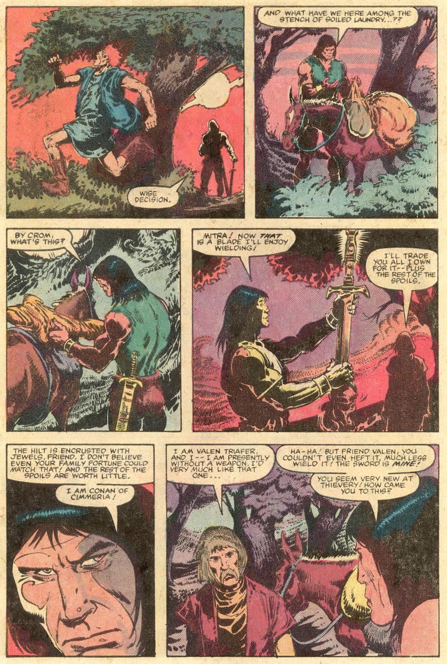 Conan the Barbarian (1970) Issue #143 #155 - English 7