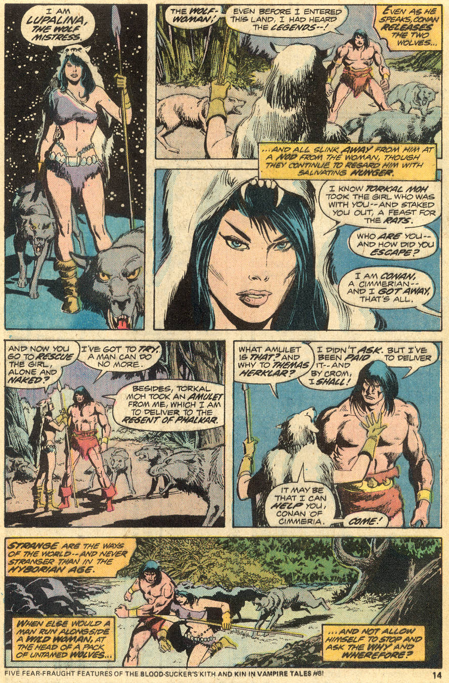 Conan the Barbarian (1970) Issue #49 #61 - English 9