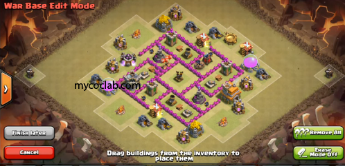 War Base Layout for Th6