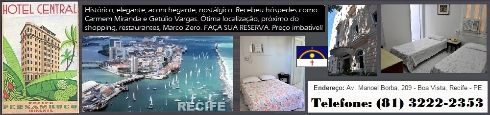 RECIFE: HOTEL CENTRAL