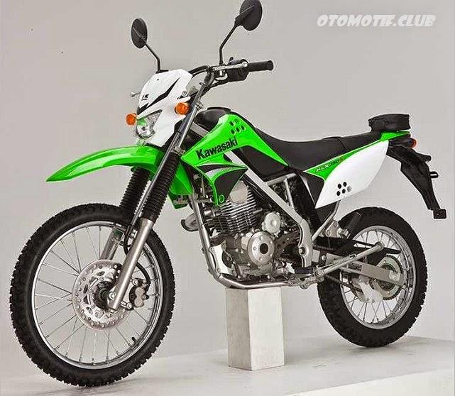 Motor Trail Kawasaki KLX 150