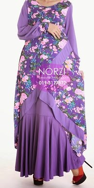 NBH0399 HAFIZAH FULLSET (MATERNITY FRIENDLY)