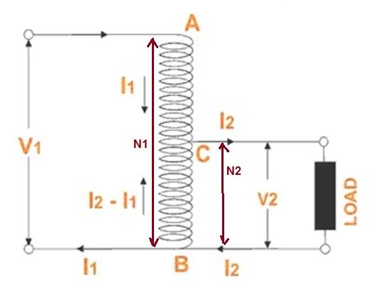 Basic Principle of Auto Transformer | Electrical Concepts
