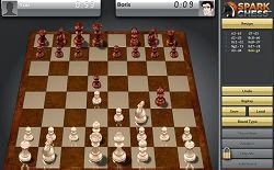 Game Online Free SparkChess Permainan Catur Google Chrome