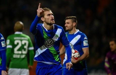 Wolfsburg Tekuk Bremen 5-3