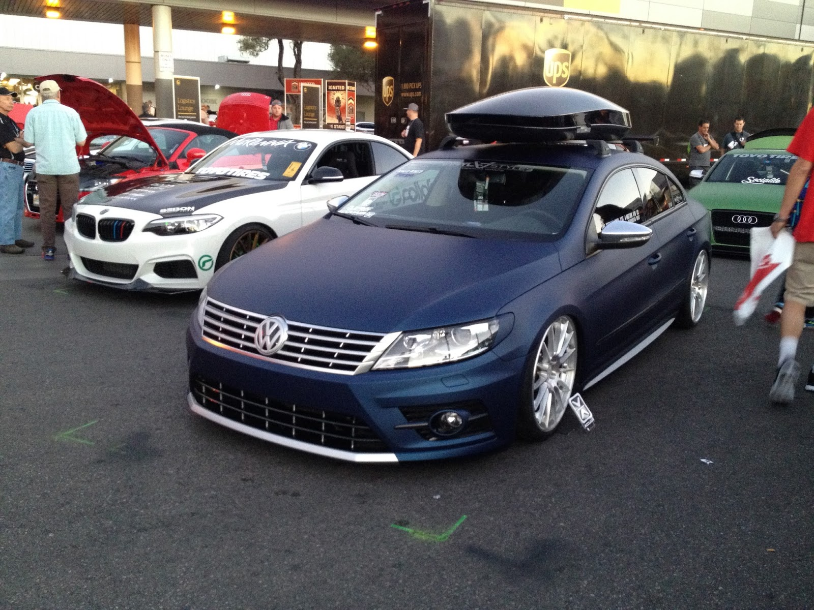 volkswagen sema blog rack stand paddle at on cc racks car img up board