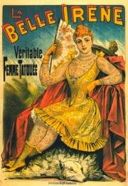 Irene Woodward - la belle irene - freak show - circus
