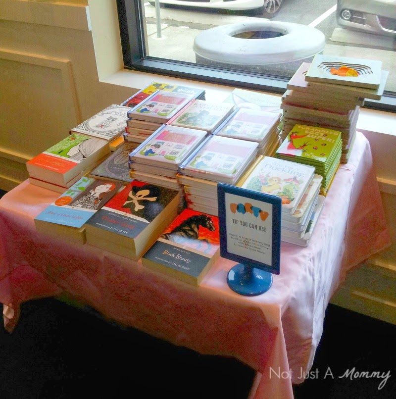 Party With A Purpose Fundraiser Event; book samples