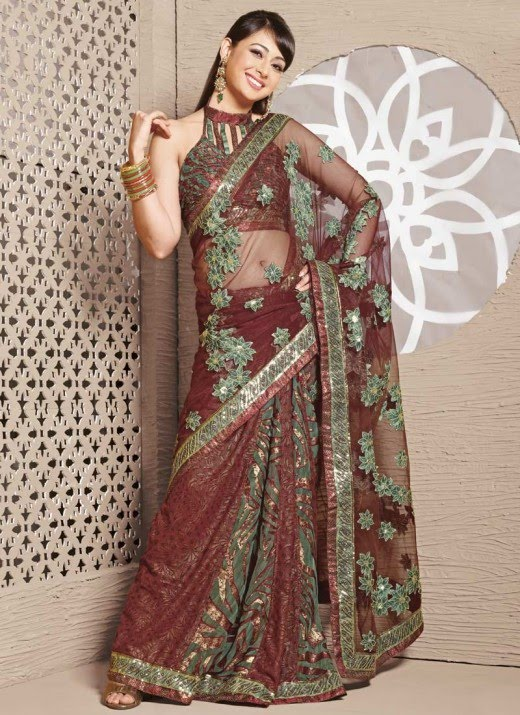 , Indian Models in Saree