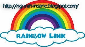 cara membuat rainbow link di blog