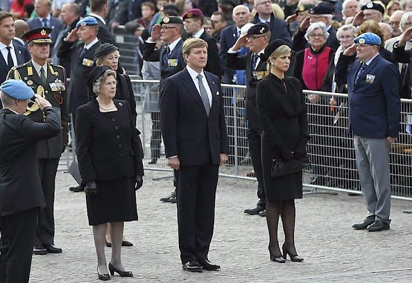 King Willem-Alexander And Queen Maxima Attends The National Remembrance Ceremony