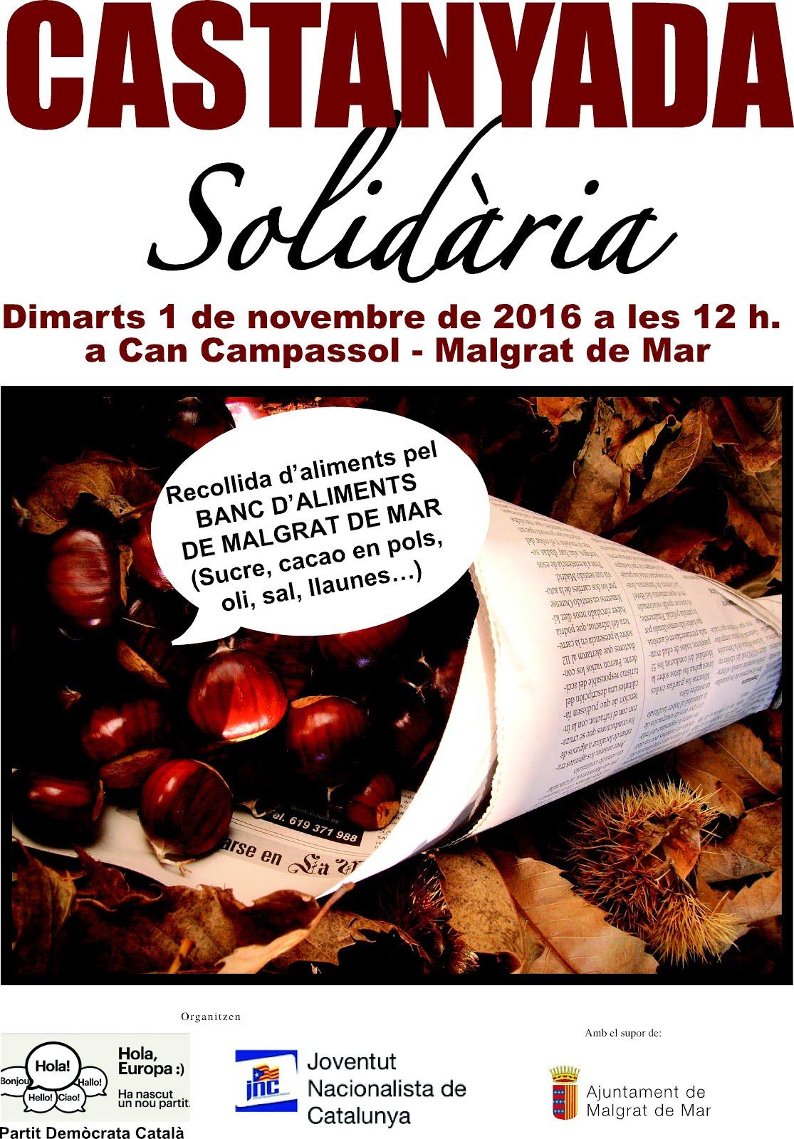 CASTANYADA SOLIDÀRIA&RECOLLIDA D'ALIMENTS