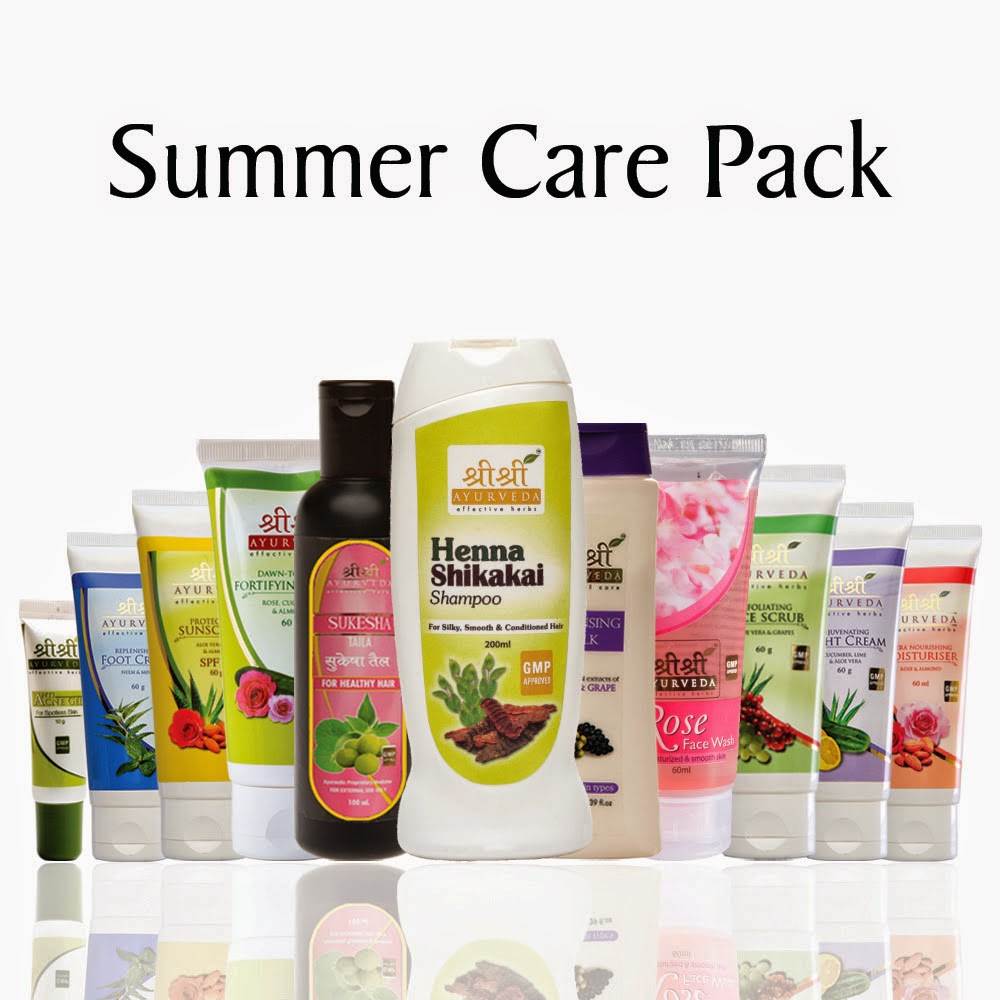 Sri Sri Ayurveda's Summer Care Pack