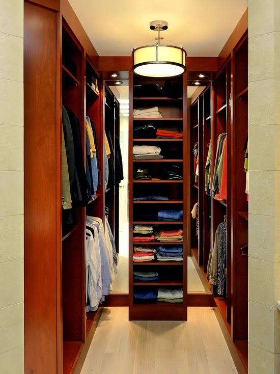 Hogares frescos 40 ideas para dise ar tu closet y for Closets pequenos y funcionales