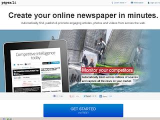 Descubra, publique e promova automaticamente artigos, fotos e vídeos de toda a internet.