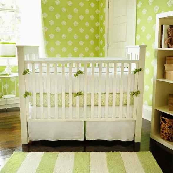 Dise os de dormitorios de beb en color verde colores en - Dormitorio verde ...