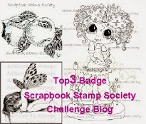 3 x Scrapbook Stamp Society Top 3