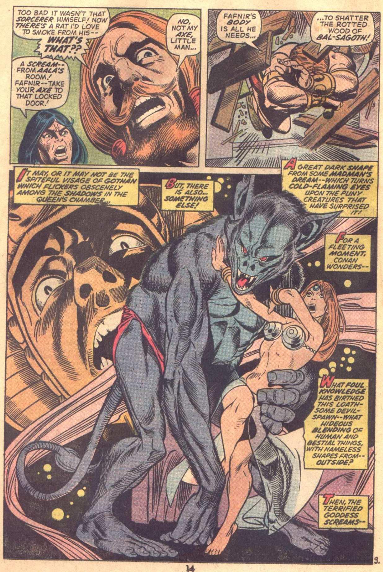 Conan the Barbarian (1970) Issue #18 #30 - English 11