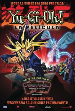 Descargar Yu-Gi-Oh! La Película La Pirámide de la Luz 2004 DvdRip Latino Mega