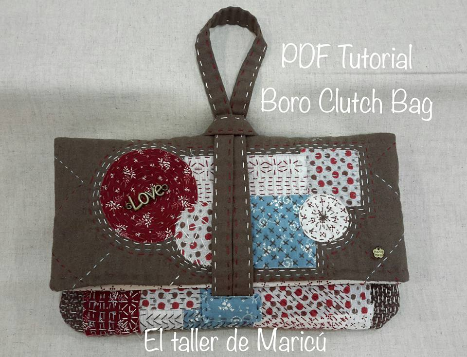 Boro Clutch Bag