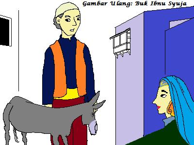 Nasib Sang Putri dan Keledainya