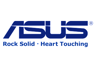 ASUS Rock solid Heart touching Logo Vector