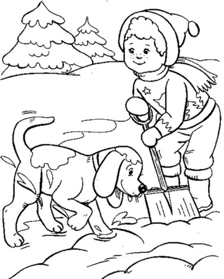 free snowbuddies coloring pages - photo#21
