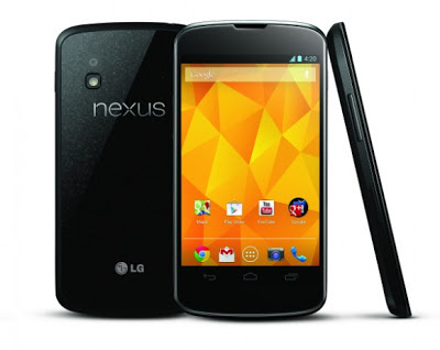 Nexus 4: Hp LG dengan Android v4.2 Jelly bean